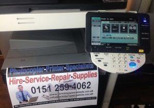 Meter count copier Printer copierman Konica Minolta copier repair service HP Canon